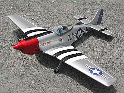 P51 Mustang .60 - BH033 - Click for                                 details
